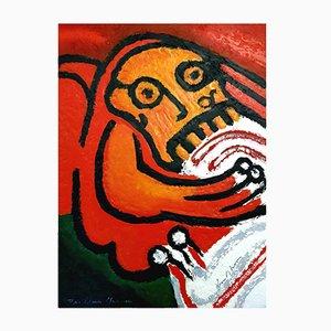 The Seven Deadly Sins Radierung von Bengt Lindstrom, 1976