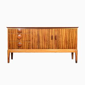 Mid-Century Walnut Sideboard by Alfred Cox for Heals