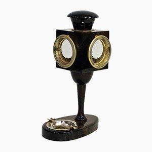 Lámpara de mesa de Aldo Tura, años 70