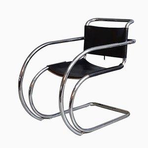 Fauteuils Bauhaus MR 20 par Ludwig Mies van der Rohe, 1960s
