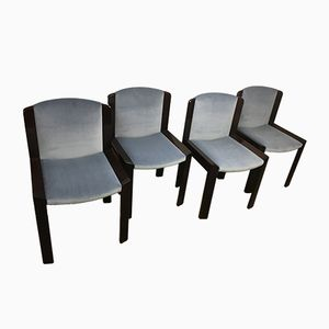 Dining Chairs by Joe Colombo for Pozzi, 1965, Set of 4