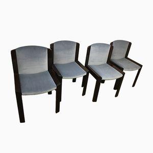Esszimmerstühle von Joe Colombo für Pozzi, 1965, 4er Set