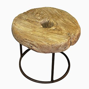Table d'Appoint Vintage en Bois, Chine