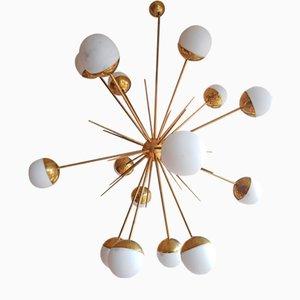 Lámpara de araña Sputnik de Stilnovo, años 60