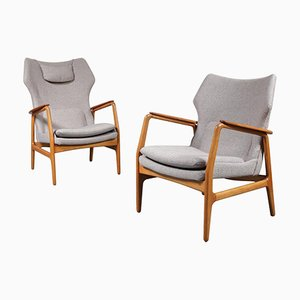 Easy Chairs by Aksel Bender Madsen for Bovenkamp, 1950s, Set of 2