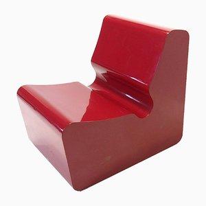 Chaise en Fibre de Verre de Primo, 1970s