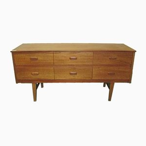 Vintage Teak Sideboard with Drawers