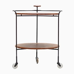 Mid-Century Modern Teak Serving Trolley from Ilse, 1950s