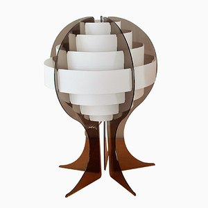 Strips Table Lamp by Preben Jacobsen & Flemming Brylle for Quality System, 1970s