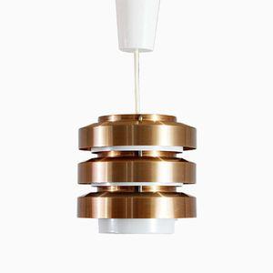 Copper Pendant Lamp, 1970s