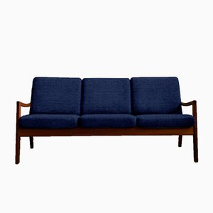 Customizable Mid-Century Teak Senator Sofa by Ole Wanscher for Poul Jeppesens