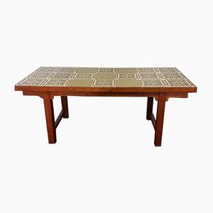 Tavolino da caffè Mid-Century piastrellato, Danimarca