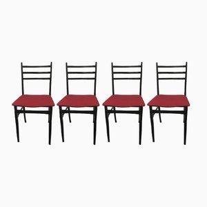 Chaises de Salle à Manger Trieste par Guglielmo Ulrich, 1961, Set de 4