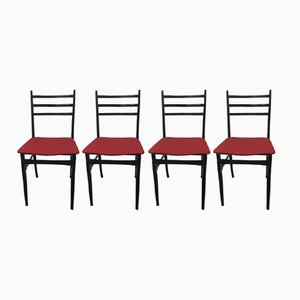 Trieste Dining Chairs by Guglielmo Ulrich, 1961, Set of 4