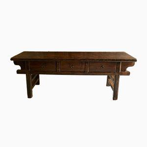 Mesa consola china antigua