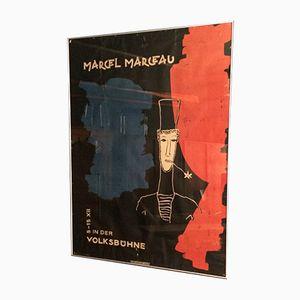 Marcel Marceau Poster, 1954
