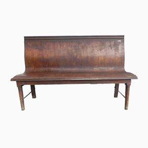 Vintage Wooden Bench, 1930s