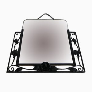 Vintage Framed Art Deco Mirror, 1936