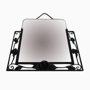 Vintage Framed Art Deco Mirror, 1936