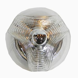Lámpara de techo modelo Futura 57192 de Koch & Lowy para Peill & Putzler, años 70