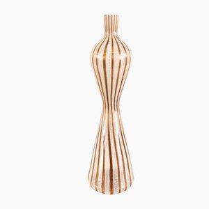 Mid-Century Murano Glass Vase by Paolo Venini for Egidio Costantini, Fucina degli Angeli Murano