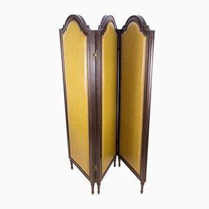 Raumteiler aus Kunstleder, 1930er