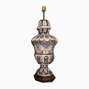 Lámpara de mesa vintage de cerámica