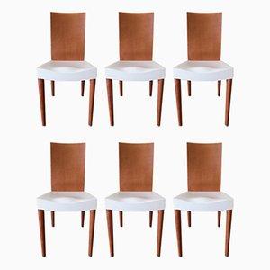Miss Trip Stühle von Philippe Stark für Kartell, 6er Set