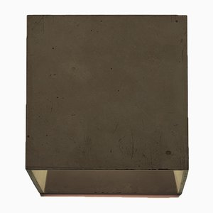 Cromia Wall Lamp in Brown from Plato Design