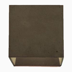 Lampada da parete Cromia marrone di Plato Design