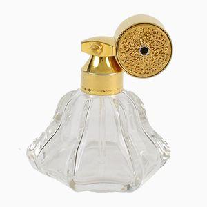 Botella de perfume vintage de Marcel Franck, años 50