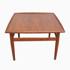 Tavolino da caffè vintage di Grete Jalk per Glostrup