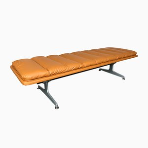 Leather Bench by Geoffrey Harcourt for Artifort, 1970s