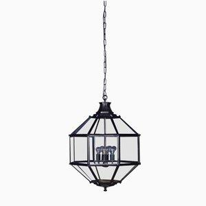 Grande Lanterne Vintage Noire