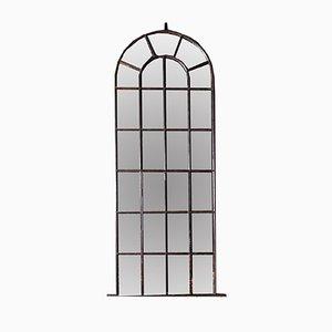 Industrielle Vintage Fensterscheiben-Spiegel