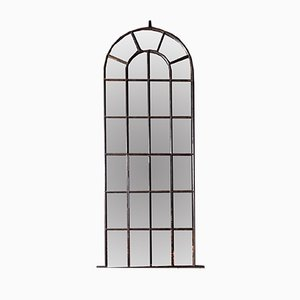 Vintage Industrial Window Pane Mirror