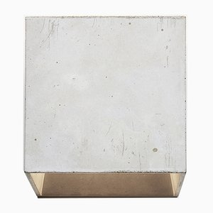 Lampada da parete Cromia grigia chiara di Plato Design