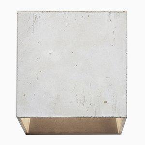 Lámpara de pared Cromia en gris oscuro de Plato Design