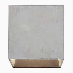 Lampada da parete Cromia grigia di Plato Design