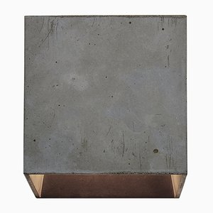 Cromia Wall Lamp in Dark Grey from Plato Design