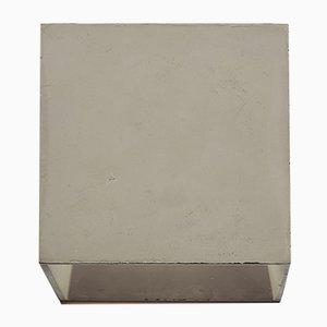 Lampada da parete Cromia color grigio tortora di Plato Design