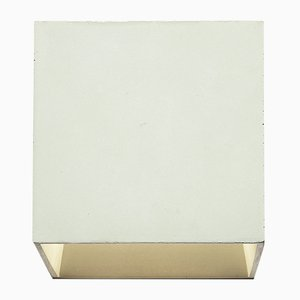 Lampada da parete Cromia verde salvia di Plato Design