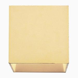 Lampada da parete Cromia gialla di Plato Design