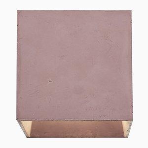 Lámpara de pared Cromia en borgoña de Plato Design