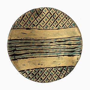 Plato vintage de cerámica de Missy