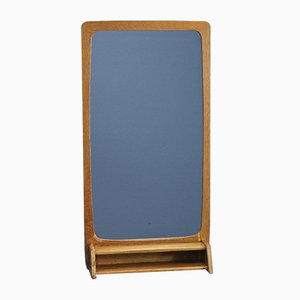 Mid-Century Danish Oak Mirror, 1960s