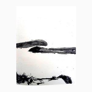 Aguatinta Moments de Zao Wou-Ki, 1996