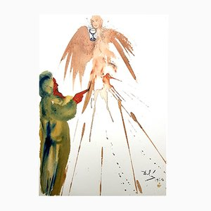 Biblia Sacra Lithografie von Salvador Dali, 1969