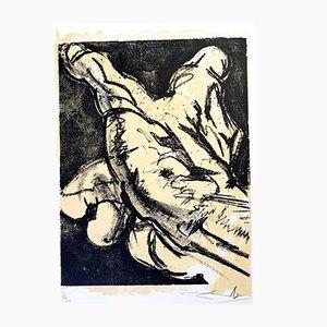 Litografia The Hand di Salvador Dali, 1967