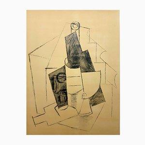 Cubism Pochoir by Pablo Picasso, 1962